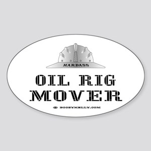 Rig Mover Oval Sticker
