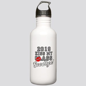 Kiss My Class Goodbye Stainless Water Bottle 1.0L