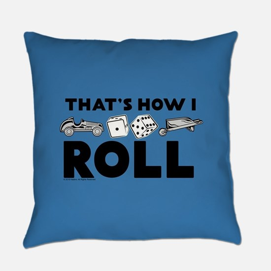 Monopoly - Thats How I Roll Everyday Pillow