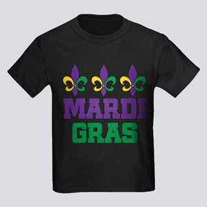 mardi gras trio w words T-Shirt