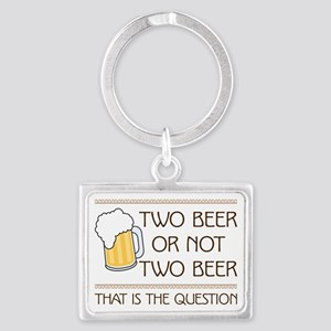 Two Beer Keychains