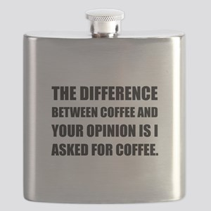 Coffee And Opinion Flask