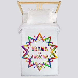 Drama is Awesome Twin Duvet