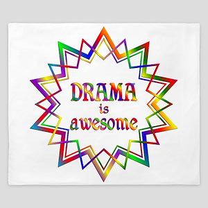 Drama is Awesome King Duvet