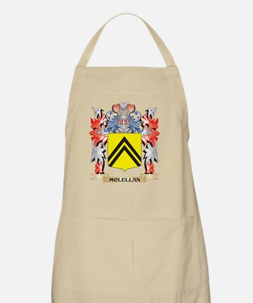 Mclellan Coat of Arms - Family Crest Apron