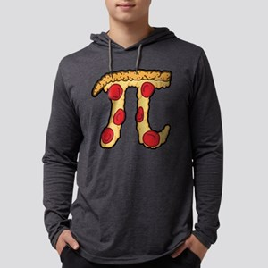 Pizza Pi Mens Hooded Shirt