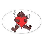 African Cupid Valentine Love Sticker