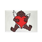 African Cupid Valentine Love Magnets