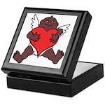 African Cupid Valentine Love Keepsake Box