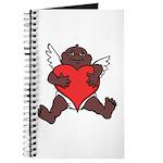 African Cupid Valentine Love Journal