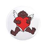 African Cupid Valentine Love Button