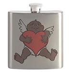 African Cupid Valentine Love Flask
