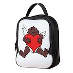 African Cupid Valentine Love Neoprene Lunch Bag
