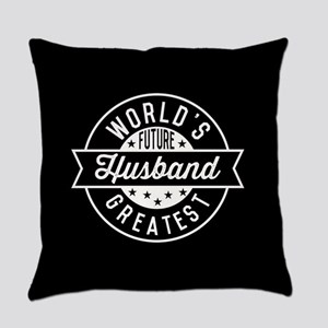 World's Future Greatest Husband Everyday Pillow