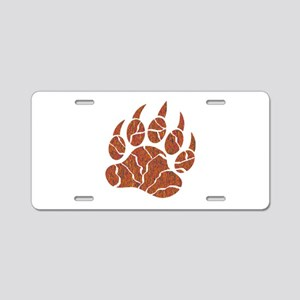 TRACKS Aluminum License Plate
