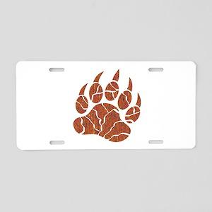 TRACKS Aluminum License Plate