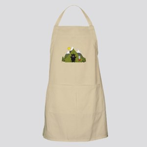 Grizzly Bear Camping Apron