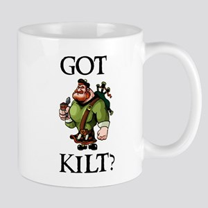 GOT_KILT_WHT Mugs
