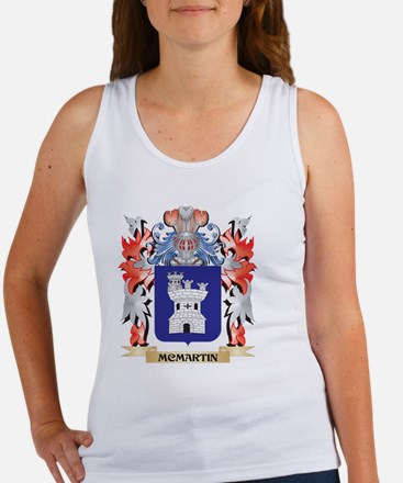 Mcmartin Coat of Arms - Family Crest Tank Top