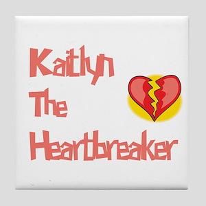 Kaitlyn the Heartbreaker Tile Coaster
