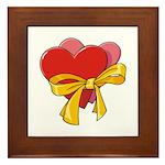 Love Hearts Framed Tile
