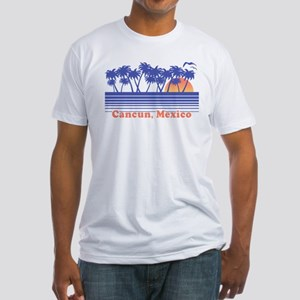 Cancun Mexico Fitted T-Shirt