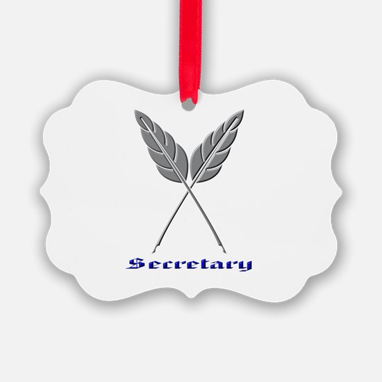 Secretary Ornament