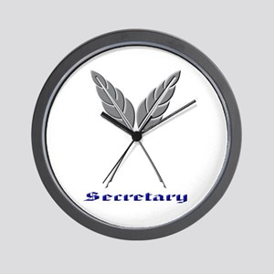 Secretary Wall Clock