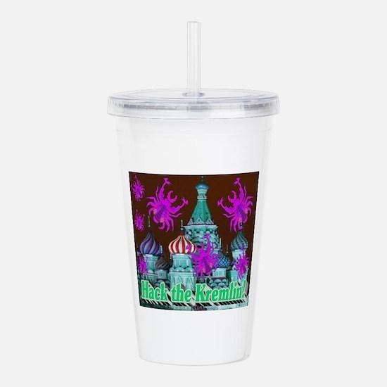 'Hack the Kremlin! Acrylic Double-wall Tumbler