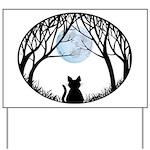 Fat Cat & Cat Lover Yard Sign