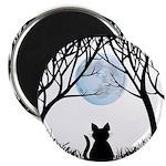 Fat Cat & Cat Lover Magnet