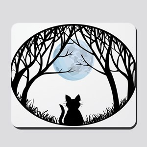 Cat Lover Cute Fat Cat Mousepad