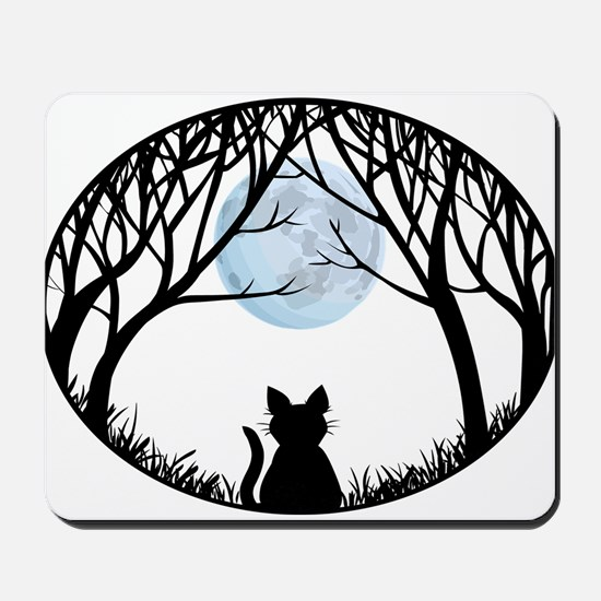 Fat Cat Gifts Shirts Cat Lover Art Gifts Mousepad