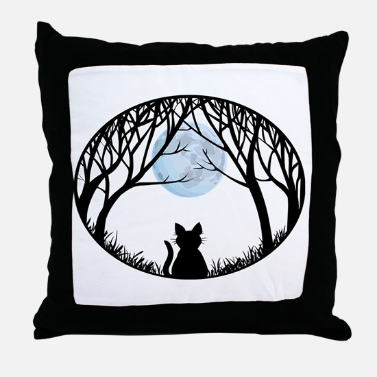 Fat Cat Gifts Shirts Cat Lover Art Gifts Throw Pil