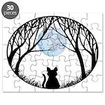 Fat Cat & Cat Lover Puzzle