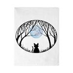 Fat Cat & Cat Lover Twin Duvet Cover