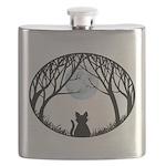 Fat Cat & Cat Lover Flask