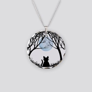 Cat Lover Cute Fat Cat Necklace Circle Charm