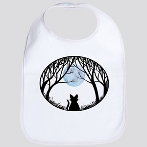 Fat Cat Gifts Shirts Cat Lover Art Gifts Baby Bib