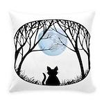 Fat Cat & Cat Lover Everyday Pillow