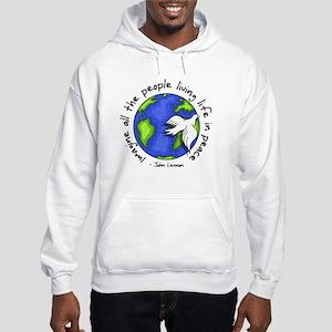 Imagine - World - Live in Peace Sweatshirt