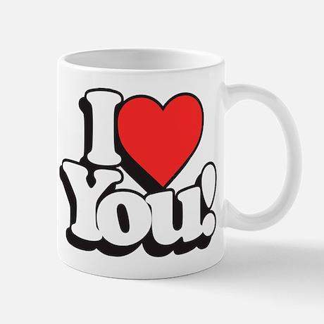 I Love You Standard Mug
