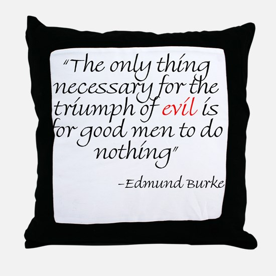 Cool Burke Throw Pillow