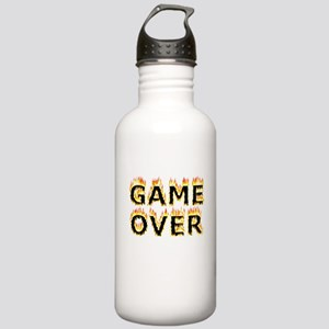 Game Over (Flames) Stainless Water Bottle 1.0L