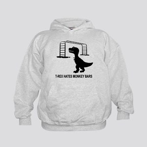 T-Rex Hates Monkey Bars-1 Sweatshirt
