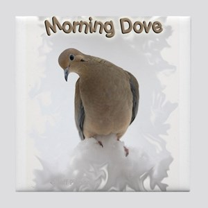 Morning Dove Tile Coaster