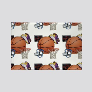 I Love Basketball Magnets
