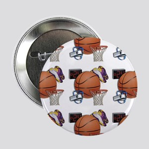 "I Love Basketball 2.25"" Button"