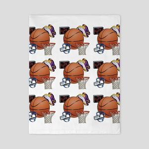 I Love Basketball Twin Duvet