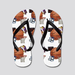I Love Basketball Flip Flops
